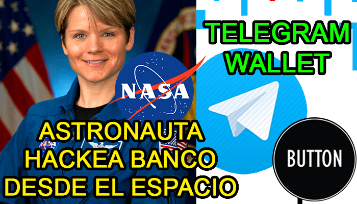 Anne McClain astronauta hack banco cuenta bancaria dinero hacks nasa