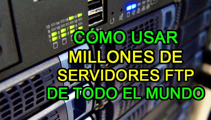 servidores ftp abiertos como usar servidor acceso datos privados