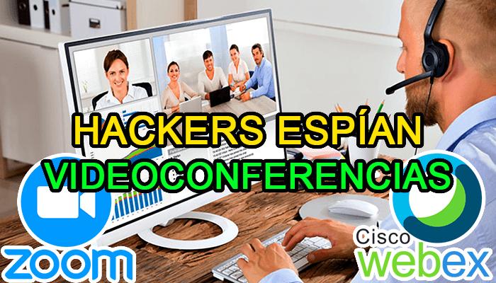 hackean cisco webex zoom espian videoconferencias en vivo vulnerabilidad