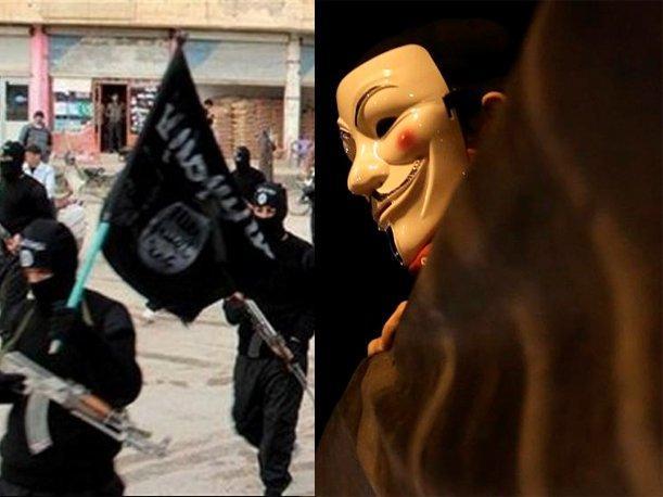 El grupo de piratas informáticos declaró la guerra a los yihadistas en Internet. Foto: Russia Today