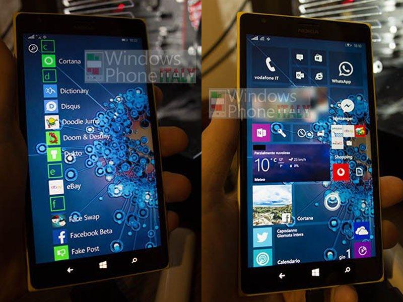 Filtradas capturas de Windows 10
