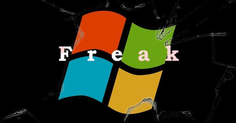 La falla FREAK afecta a Windows