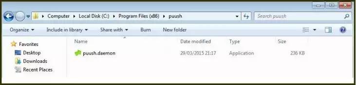 Aplicación de capturas puush ha sido infectado, puedes tener malware en tu ordenador