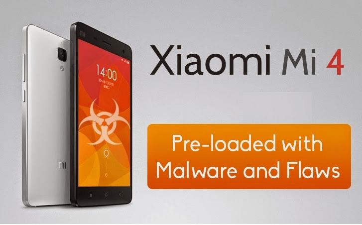 Xiaomi trae Malware preinstalado