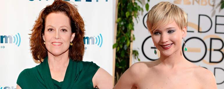 "Sigourney Weaver: ""Los 'hackers'  Jennifer Lawrence"""