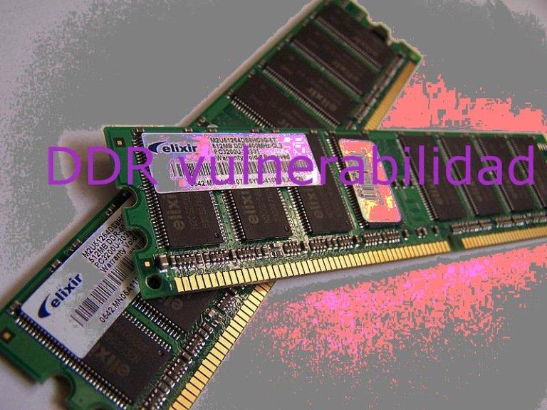 Las vulnerabilidades no solo están en el software: los módulos DDR3