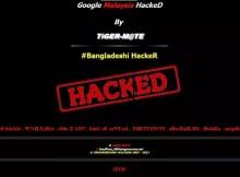 Un 'hacker' bloquea Google Malasia