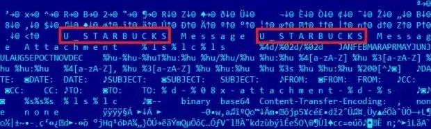 Código de Regin con el nombre codificado _STARBUCKS / Imagen de Kaspersky Labs