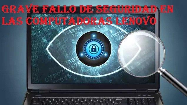 Descubren un nuevo y grave fallo de seguridad en ordenadores Lenovo