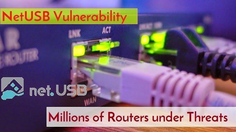 Falla en NetUSB permite ejecución remota en dispositivos de red