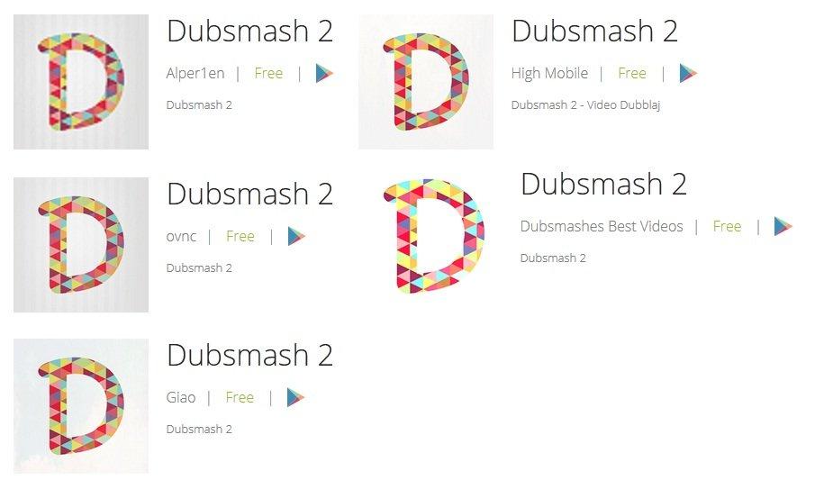 Otras variantes de Dubsmash 2