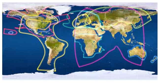 interceptar satélites