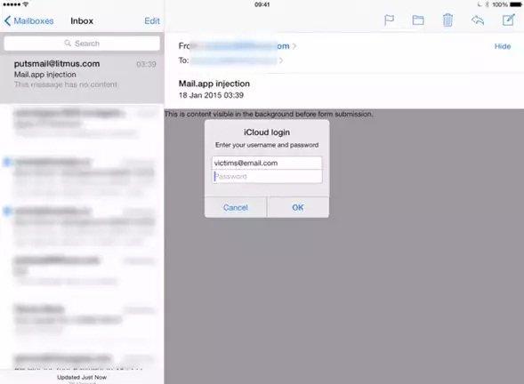 Un Fallo en la App Mail de iOS Permite Robarte tu ID de Apple