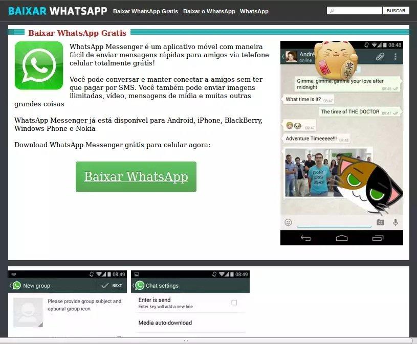 whatsapp baixar