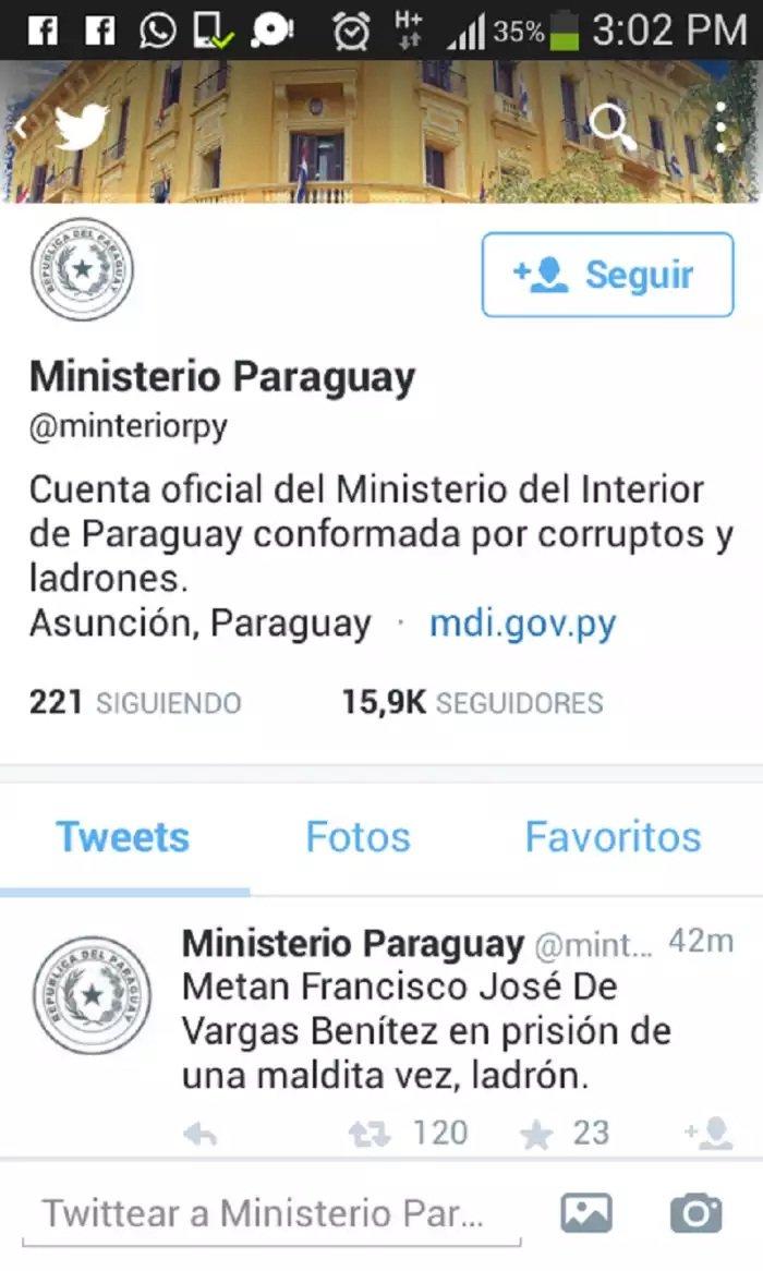 Chico de 17 a os ser a responsable de hackear cuentas de for Pagina del ministerio del interior