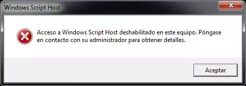 windows scrip Host