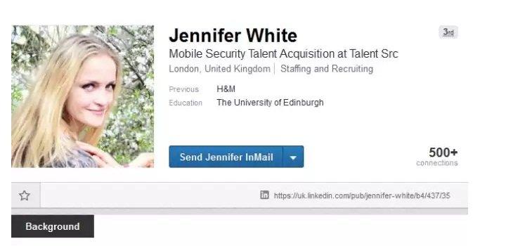 ¿Quién es Jennifer White y por qué su Linkedin preocupa a expertos en seguridad online
