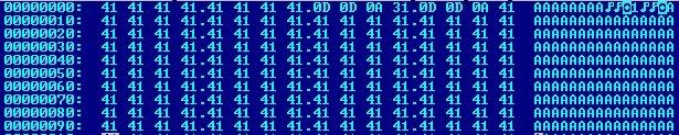 Encabezado uploadpref.dat tomado del exploit de prueba de concepto