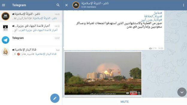 Por qué Telegram es la aplicación preferida por Estado Islámico